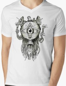 The Eye T-Shirt Mens V-Neck T-Shirt