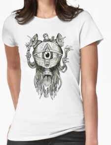 The Eye T-Shirt Womens Fitted T-Shirt