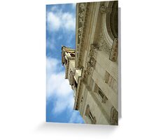 Up Above Greeting Card
