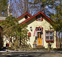 Scarawan One Room Schoolhouse by PineSinger
