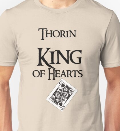 Thorin King of hearts Unisex T-Shirt