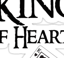 Thorin King of hearts Sticker
