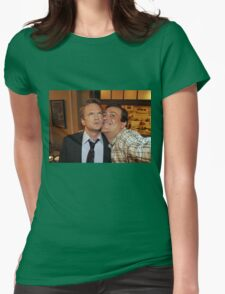 barney and marshall Womens Fitted T-Shirt