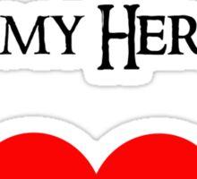 Bombur is my hero Sticker