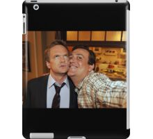 barney and marshall iPad Case/Skin