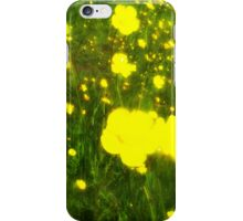 Buttercup Meadow iPhone Case/Skin