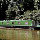 Narrow Boat at Devizes by Photography  by Mathilde