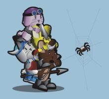 The Viking Bunnies - Señor Spider Kids Tee