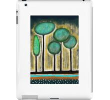 Green Trees iPad Case/Skin