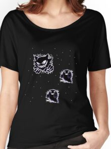 Haunter, Ghosts and such purple Women's Relaxed Fit T-Shirt