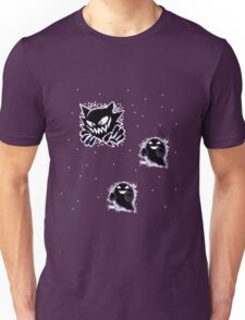 Haunter, Ghosts and such purple Unisex T-Shirt
