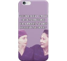 Cristina and Meredith goodbye iPhone Case/Skin