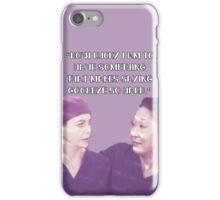 Cristina and Meredith goodbye iPhone Case/Skin