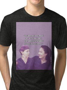 Cristina and Meredith goodbye Tri-blend T-Shirt