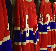 Montreal Canadians by Jeannie  Mazur