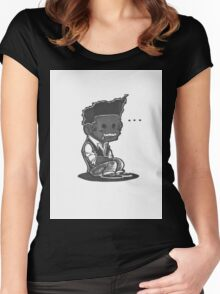 Sit Down, Shut Up Women's Fitted Scoop T-Shirt