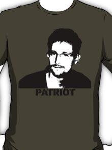 Edward Snowden: Patriot T-Shirt