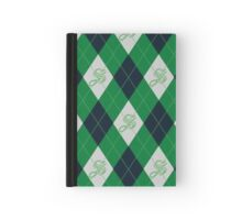 Slytherin Argyle Hardcover Journal