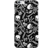 Skeleton pattern iPhone Case/Skin