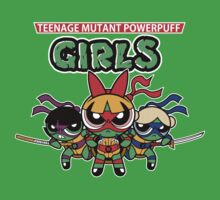 VERS 2.TEENAGE MUTANT POWERPUFF GIRLS by Fernando Sala