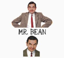 Mr. Bean - The Faces Kids Clothes