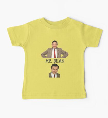 Mr. Bean - The Faces Baby Tee