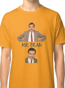 Mr. Bean - The Faces Classic T-Shirt