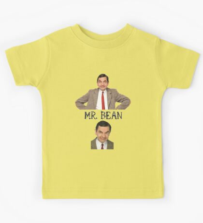 Mr. Bean - The Faces Kids Tee