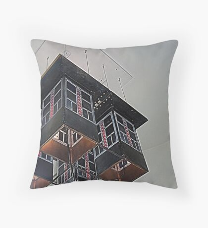 House For An Art Lover, Staircase Lighting Throw Pillow