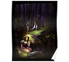 Dear in deep forest Poster
