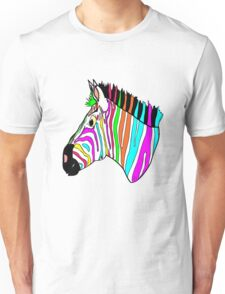Funky Zebra Unisex T-Shirt