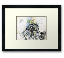 Deus ex machina Framed Print