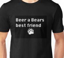 Beer a Bears Best Friend Unisex T-Shirt