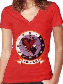 VR-46 Eagles Women's Fitted V-Neck T-Shirt