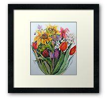 Garden Show Framed Print