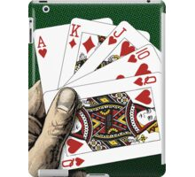 Royal Flush - Poker iPad Case/Skin