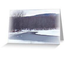 River Paths Greeting Card