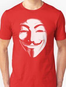 anonymous t-shirt version 2 Unisex T-Shirt