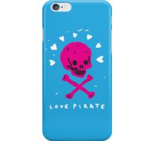 Funny Skull Pirate Flag iPhone Case/Skin