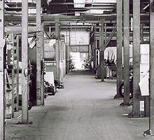 Industry hall way by Mustafa Sural
