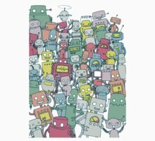 Robot Party Kids Tee