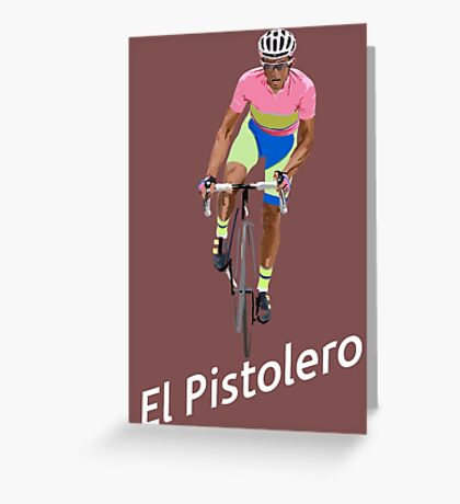El Pistolero Greeting Card