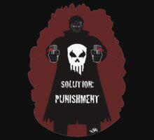 """Solution Punishment"" T-shirt by CMProductions"