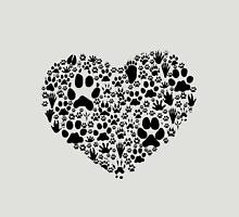 Paws of the Heart Unisex T-Shirt