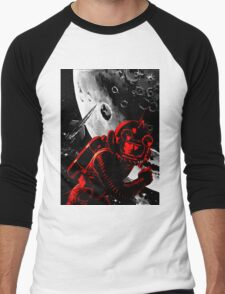 Reds in Space Men's Baseball ¾ T-Shirt
