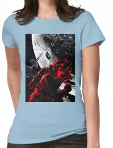 Reds in Space Womens Fitted T-Shirt
