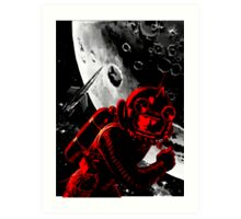 Reds in Space Art Print
