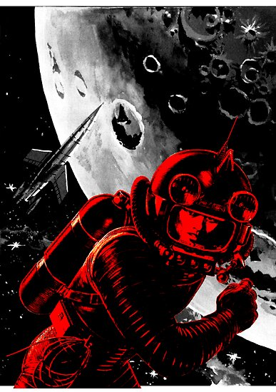 Reds in Space by sashakeen