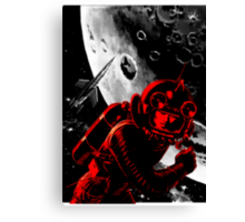 Reds in Space Canvas Print