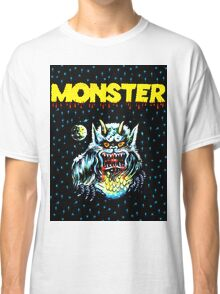 Simple Monster in the Night Classic T-Shirt